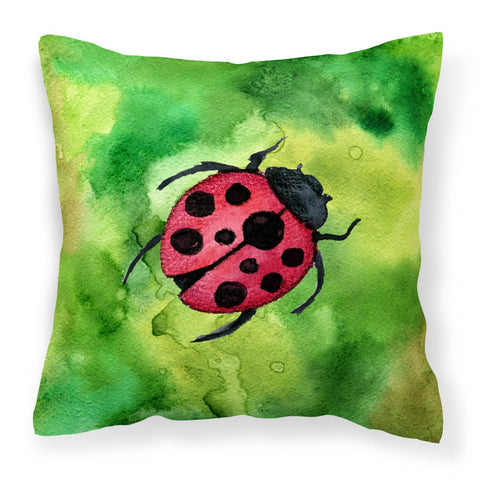 Buy this Irish Lady Bug Fabric Decorative Pillow BB5770PW1818