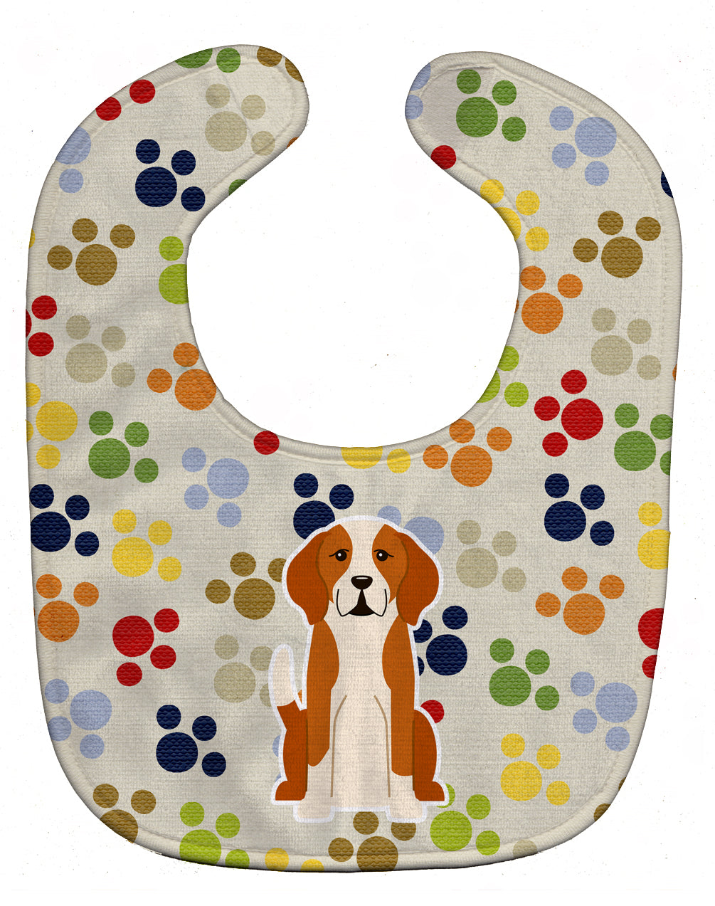 Pawprints English Foxhound Baby Bib BB5939BIB by Caroline's Treasures
