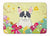 Easter Eggs French Bulldog Piebald Machine Washable Memory Foam Mat BB6011RUG by Caroline's Treasures