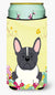 Easter Eggs French Bulldog Black White Tall Boy Beverage Insulator Hugger BB6012TBC by Caroline's Treasures