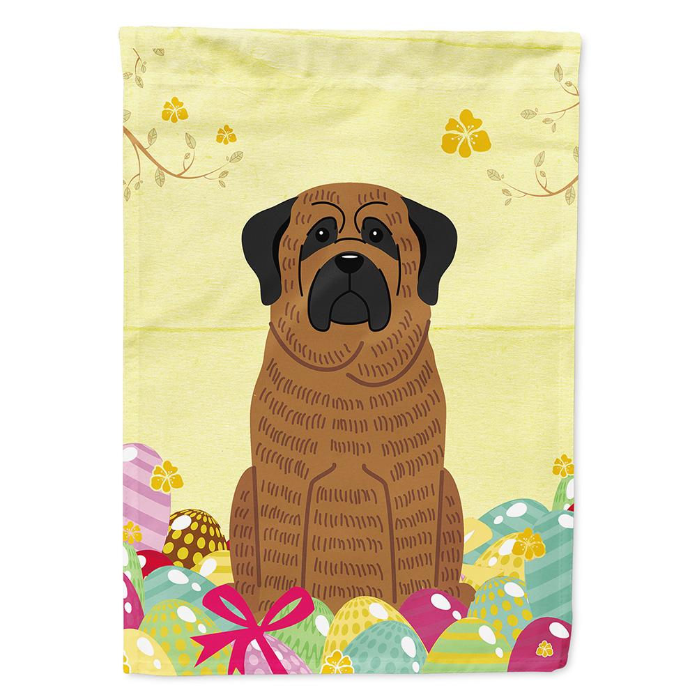 Buy this Easter Eggs Mastiff Brindle Flag Garden Size BB6015GF