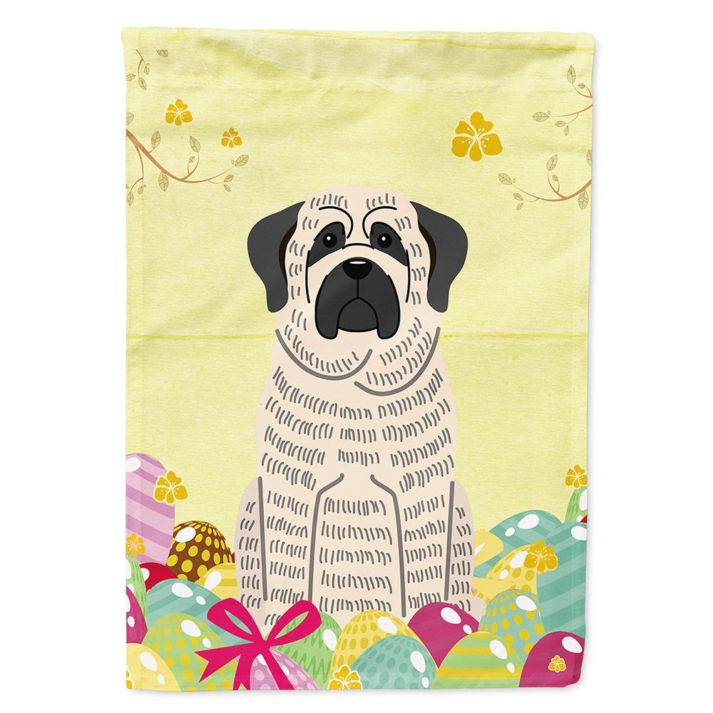 Buy this Easter Eggs Mastiff Brindle White Flag Garden Size BB6016GF
