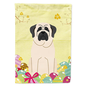 Buy this Easter Eggs Mastiff White Flag Garden Size BB6017GF