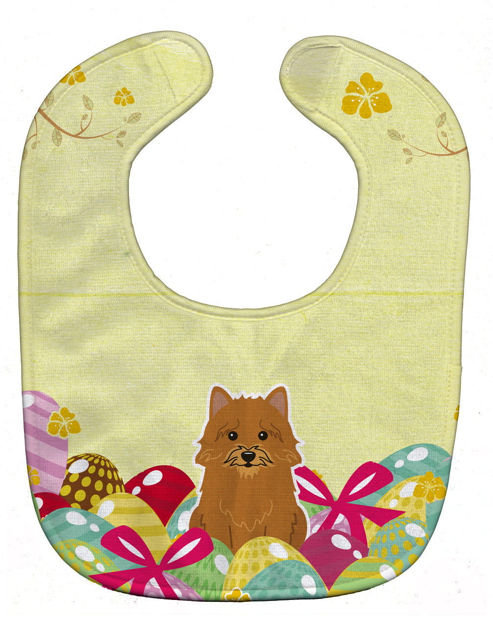 Buy this Easter Eggs Norwich Terrier Baby Bib