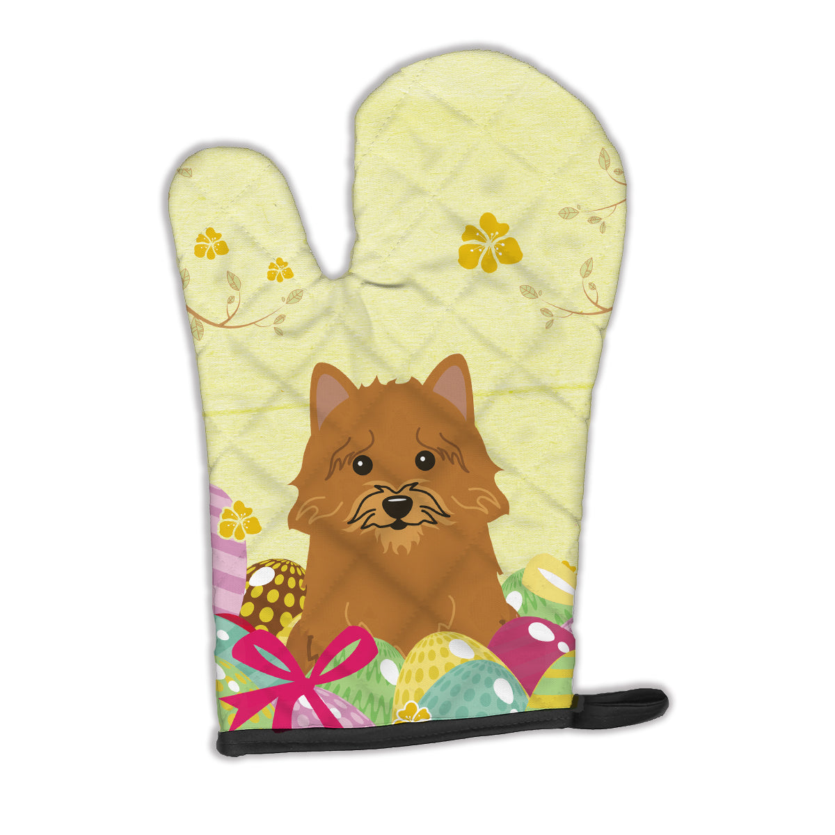 Buy this Easter Eggs Norwich Terrier Oven Mitt BB6020OVMT