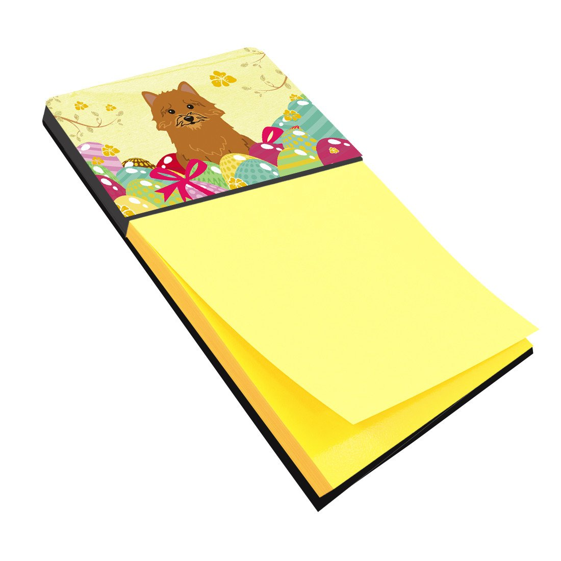 Easter Eggs Norwich Terrier Sticky Note Holder BB6020SN by Caroline's Treasures