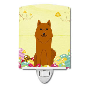 Buy this Easter Eggs Karelian Bear Dog Ceramic Night Light BB6022CNL