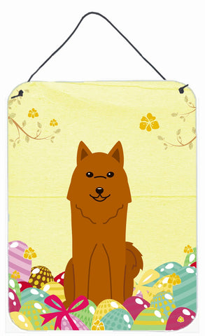 Buy this Easter Eggs Karelian Bear Dog Wall or Door Hanging Prints BB6022DS1216