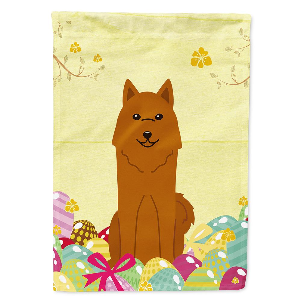 Buy this Easter Eggs Karelian Bear Dog Flag Garden Size BB6022GF