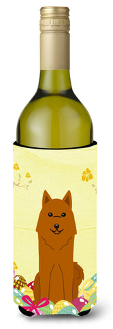 Buy this Easter Eggs Karelian Bear Dog Wine Bottle Beverge Insulator Hugger BB6022LITERK