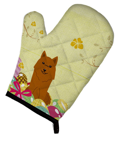 Buy this Easter Eggs Karelian Bear Dog Oven Mitt BB6022OVMT