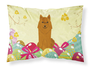 Buy this Easter Eggs Karelian Bear Dog Fabric Standard Pillowcase BB6022PILLOWCASE