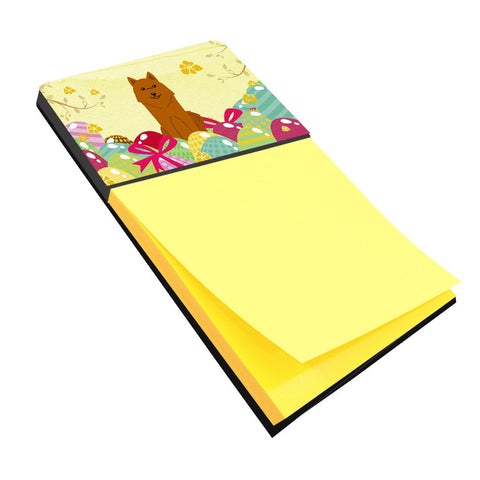 Buy this Easter Eggs Karelian Bear Dog Sticky Note Holder BB6022SN