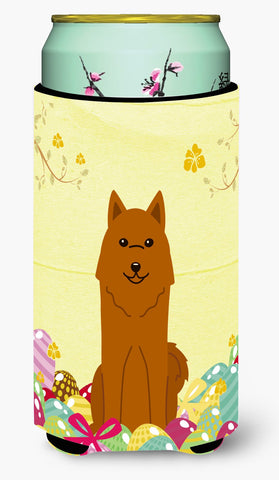 Buy this Easter Eggs Karelian Bear Dog Tall Boy Beverage Insulator Hugger BB6022TBC