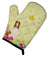 Easter Eggs Borzoi Oven Mitt BB6023OVMT by Caroline's Treasures