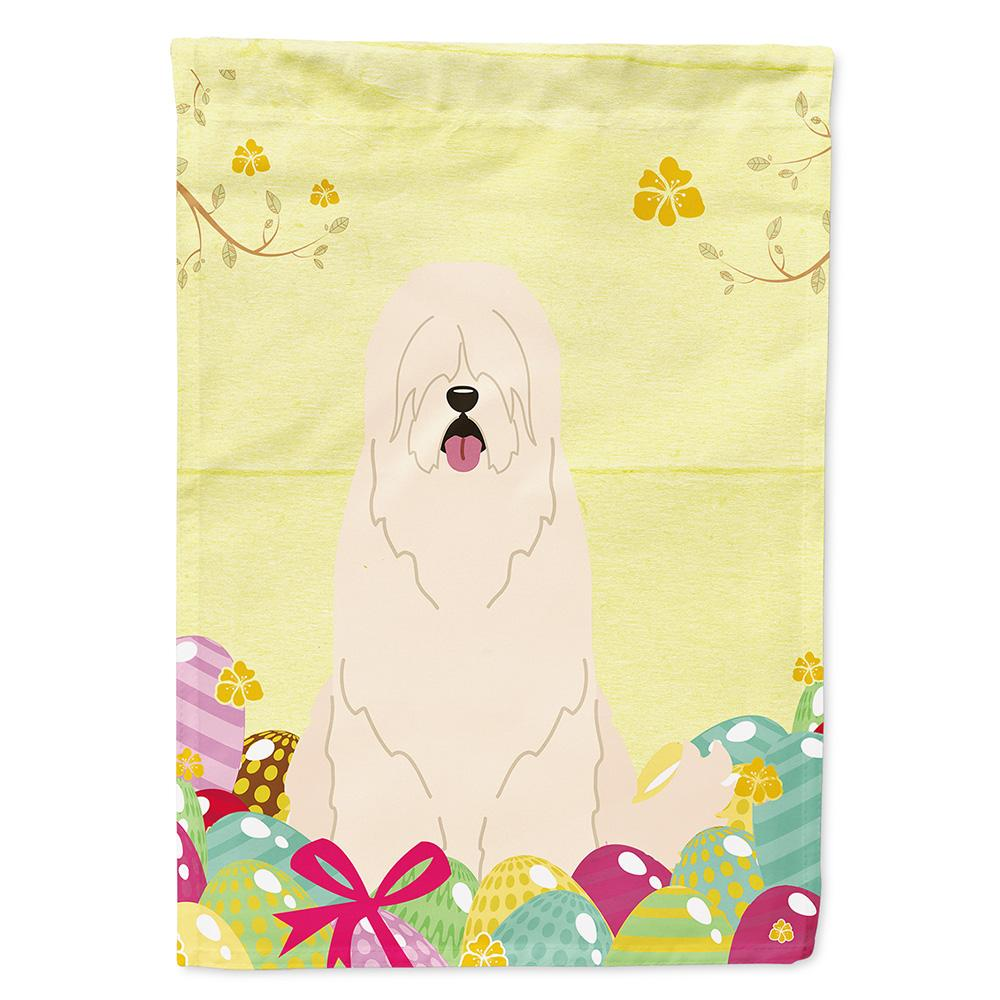 Buy this Easter Eggs South Russian Sheepdog Flag Garden Size BB6024GF
