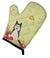 Easter Eggs West Siberian Laika Spitz Oven Mitt BB6025OVMT by Caroline's Treasures