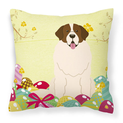 Buy this Easter Eggs Moscow Watchdog Fabric Decorative Pillow BB6027PW1818
