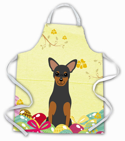 Buy this Easter Eggs Manchester Terrier Apron BB6028APRON