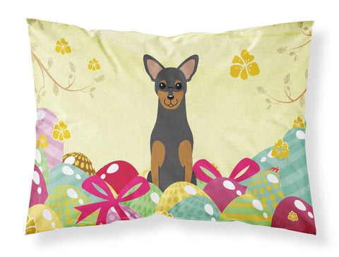 Buy this Easter Eggs Manchester Terrier Fabric Standard Pillowcase BB6028PILLOWCASE