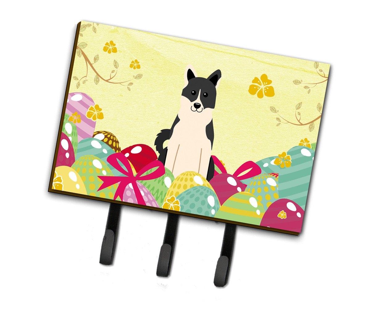 Easter Eggs Russo-European Laika Spitz Leash or Key Holder BB6029TH68 by Caroline's Treasures