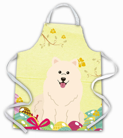 Buy this Easter Eggs Samoyed Apron BB6030APRON
