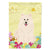 Buy this Easter Eggs Samoyed Flag Garden Size BB6030GF