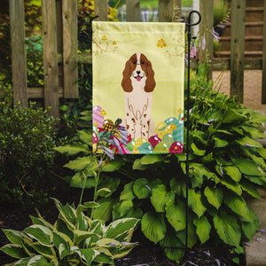Easter Eggs Russian Spaniel Flag Garden Size BB6031GF