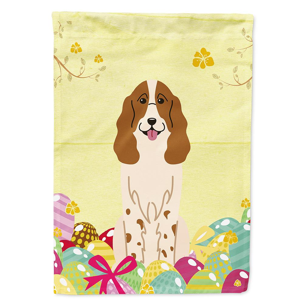 Buy this Easter Eggs Russian Spaniel Flag Garden Size BB6031GF