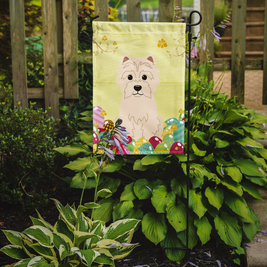 Buy this Easter Eggs Westie Flag Garden Size BB6042GF