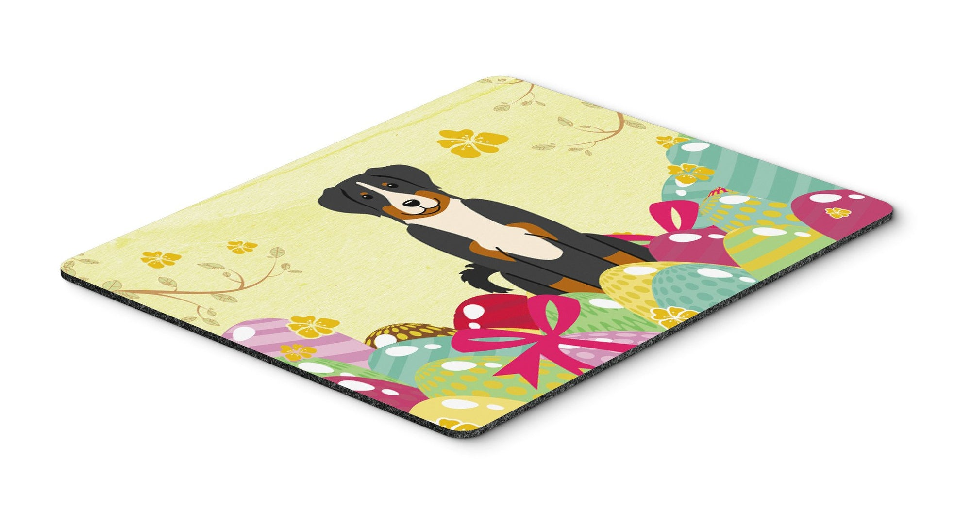 Easter Eggs Appenzeller Sennenhund Mouse Pad, Hot Pad or Trivet BB6043MP by Caroline's Treasures