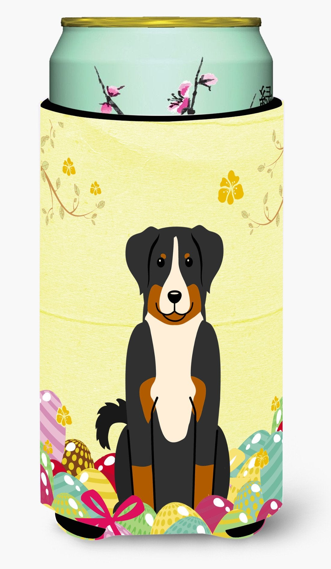 Easter Eggs Appenzeller Sennenhund Tall Boy Beverage Insulator Hugger BB6043TBC by Caroline's Treasures