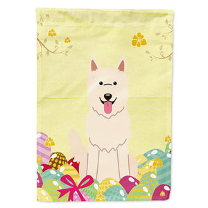 Buy this Easter Eggs White German Shepherd Flag Garden Size BB6045GF