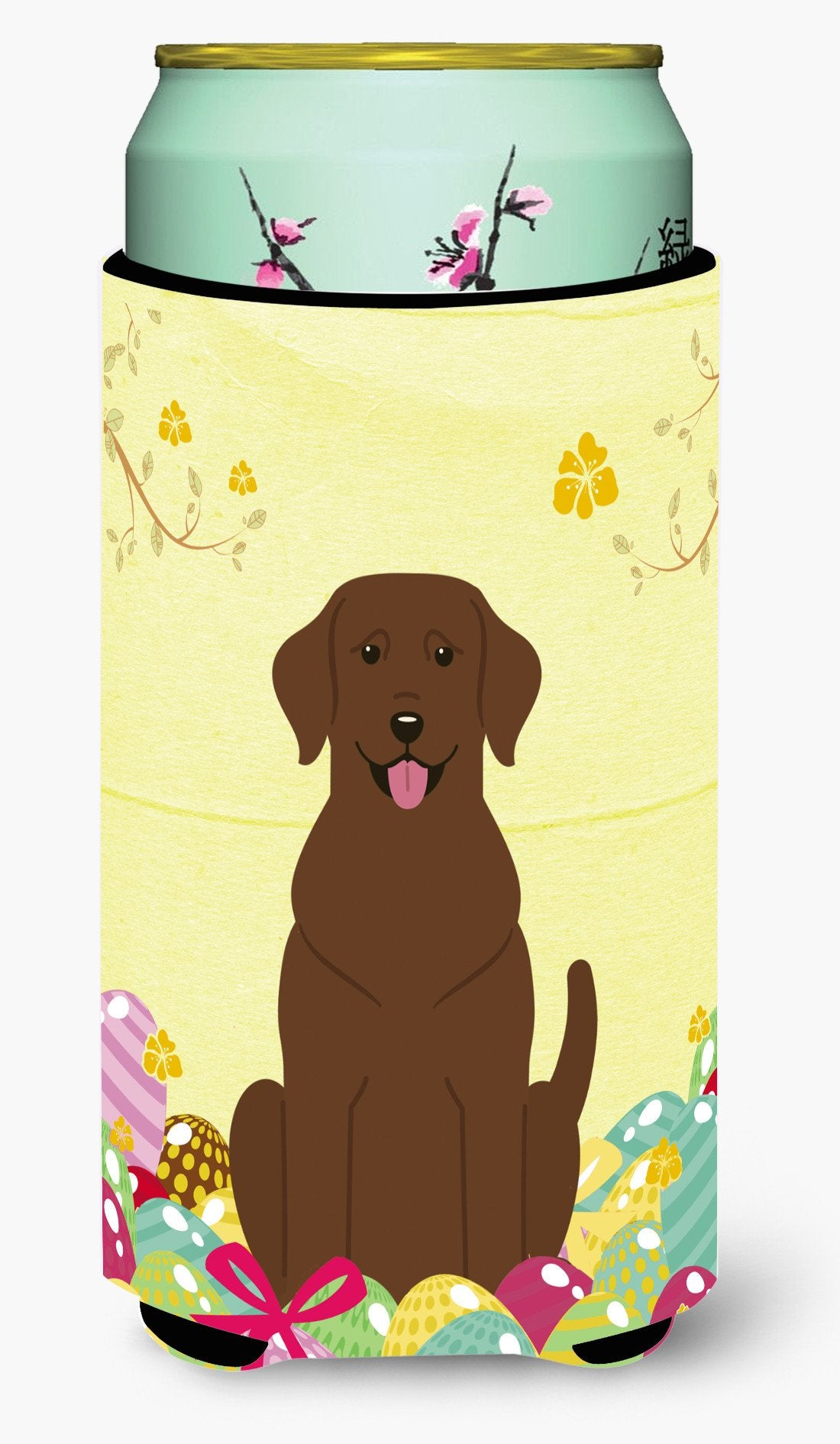 Easter Eggs Chocolate Labrador Tall Boy Beverage Insulator Hugger BB6056TBC by Caroline's Treasures