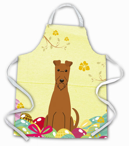 Buy this Easter Eggs Irish Terrier Apron BB6062APRON