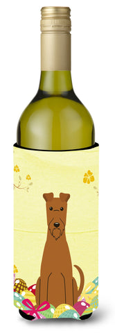 Buy this Easter Eggs Irish Terrier Wine Bottle Beverge Insulator Hugger BB6062LITERK
