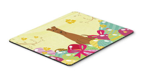 Buy this Easter Eggs Irish Terrier Mouse Pad, Hot Pad or Trivet BB6062MP