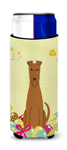 Buy this Easter Eggs Irish Terrier Michelob Ultra Hugger for slim cans BB6062MUK
