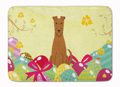 Buy this Easter Eggs Irish Terrier Machine Washable Memory Foam Mat BB6062RUG