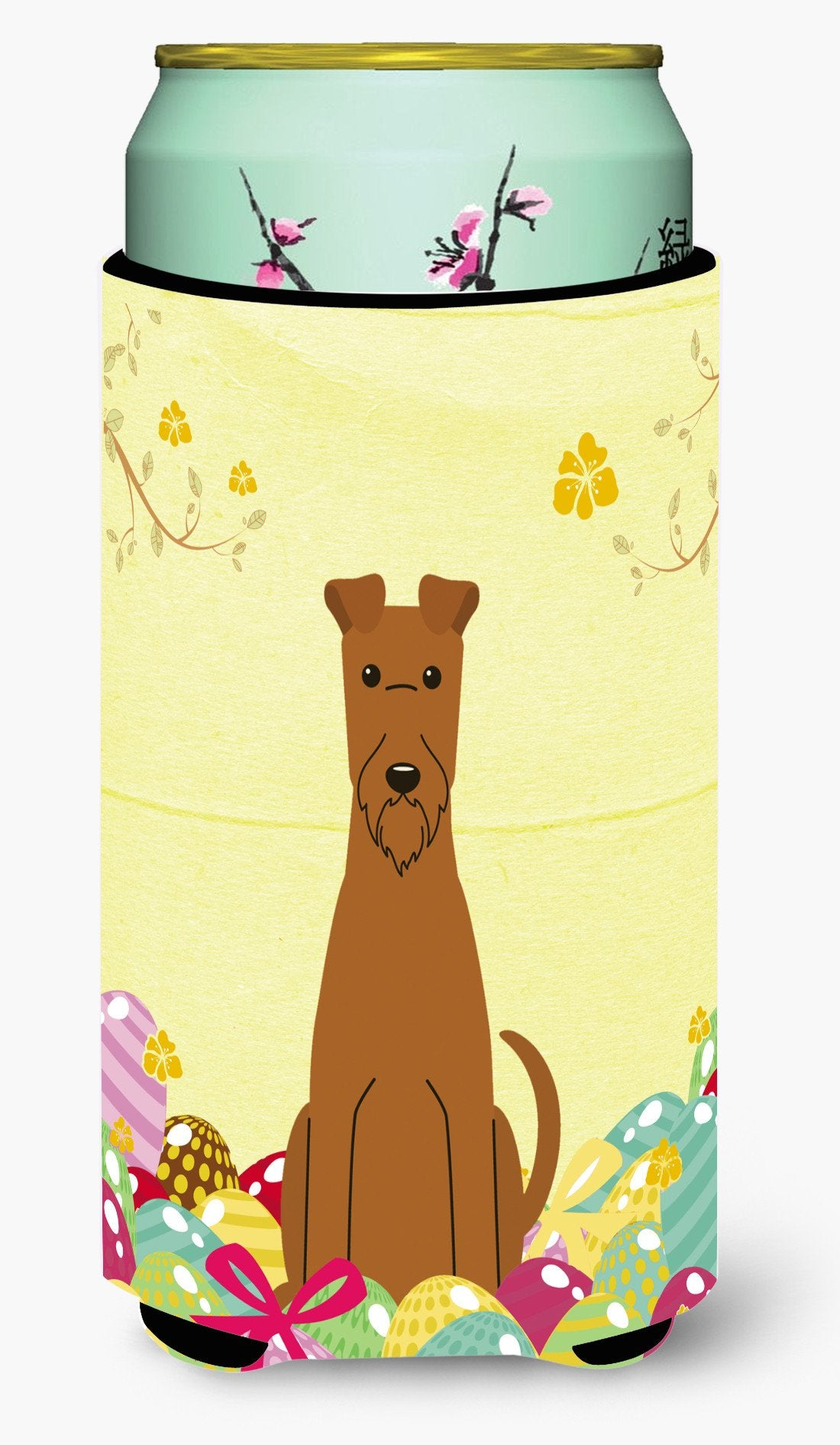 Easter Eggs Irish Terrier Tall Boy Beverage Insulator Hugger BB6062TBC by Caroline's Treasures