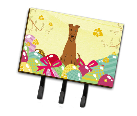 Buy this Easter Eggs Irish Terrier Leash or Key Holder BB6062TH68