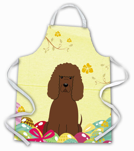 Buy this Easter Eggs Irish Water Spaniel Apron BB6063APRON