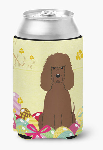 Buy this Easter Eggs Irish Water Spaniel Can or Bottle Hugger BB6063CC