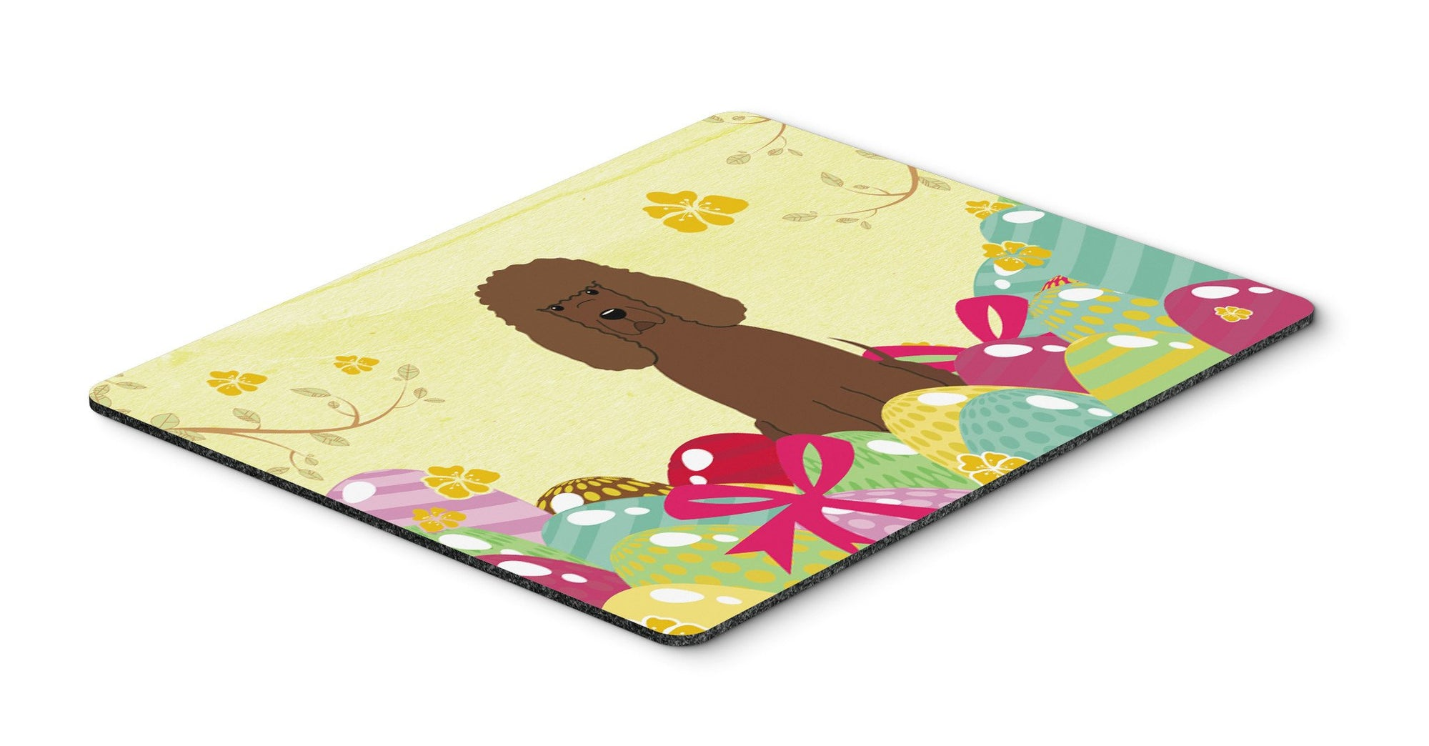 Easter Eggs Irish Water Spaniel Mouse Pad, Hot Pad or Trivet BB6063MP by Caroline's Treasures