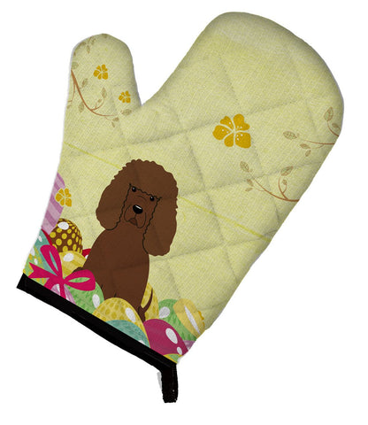 Buy this Easter Eggs Irish Water Spaniel Oven Mitt BB6063OVMT