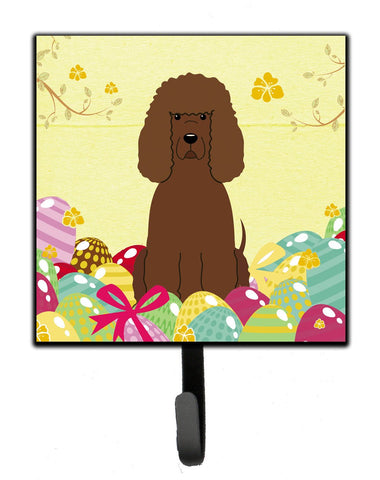 Buy this Easter Eggs Irish Water Spaniel Leash or Key Holder BB6063SH4