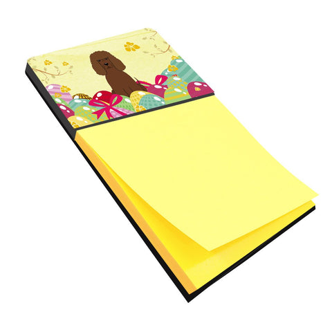 Buy this Easter Eggs Irish Water Spaniel Sticky Note Holder BB6063SN