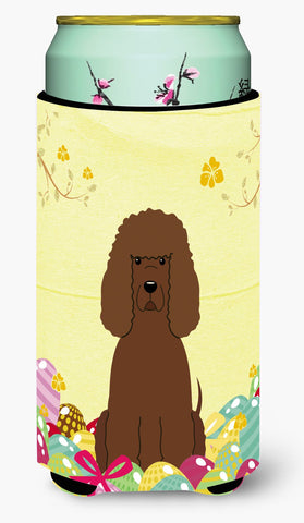 Buy this Easter Eggs Irish Water Spaniel Tall Boy Beverage Insulator Hugger BB6063TBC