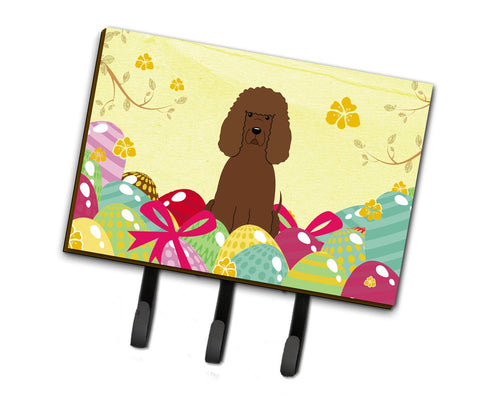 Buy this Easter Eggs Irish Water Spaniel Leash or Key Holder BB6063TH68