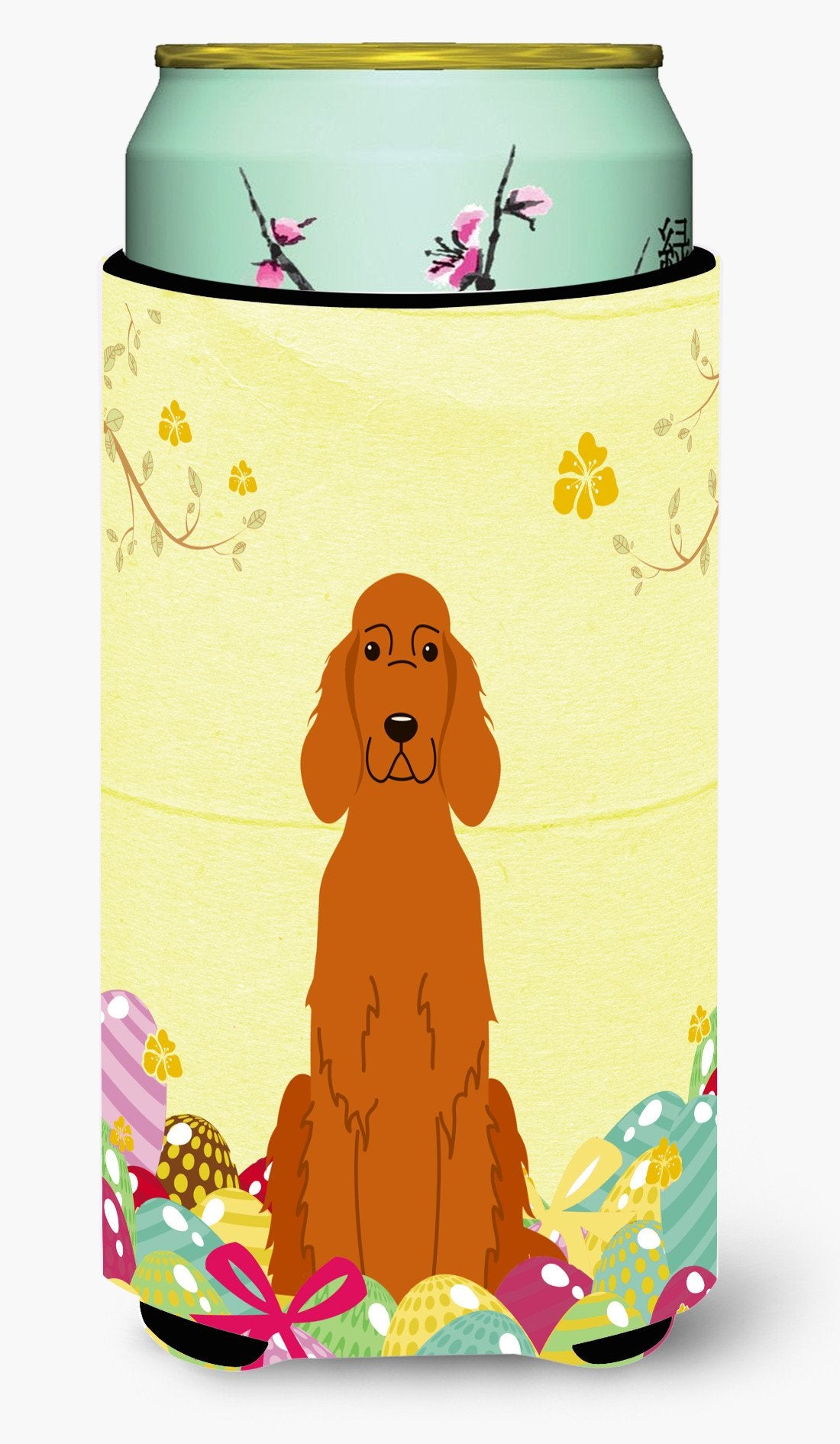 Easter Eggs Irish Setter Tall Boy Beverage Insulator Hugger BB6064TBC by Caroline's Treasures